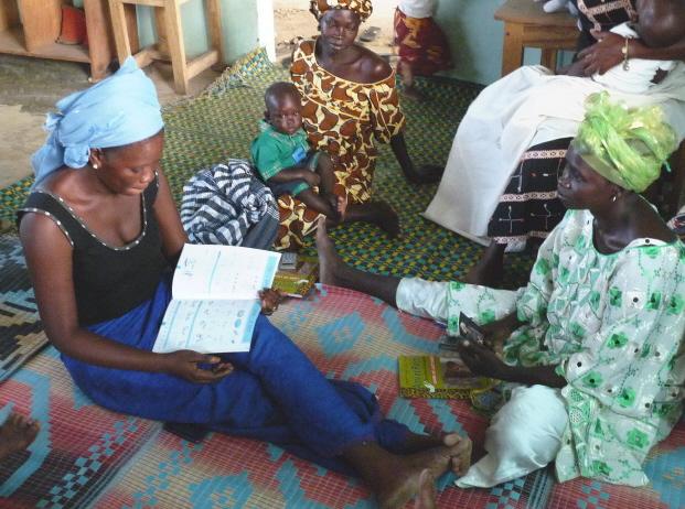 Alphabétisation des femmes au Clep de N'Dangane