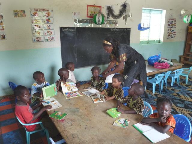Jardin d'enfants du Clep de N'Dangane