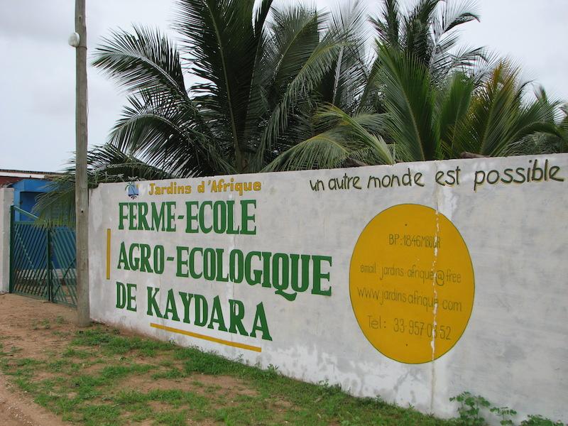 Kaydara, ferme-école agro-écologique située à Samba Dia